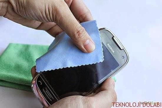 Dokunmatik ekranlı telefonlar nasıl temizlenir