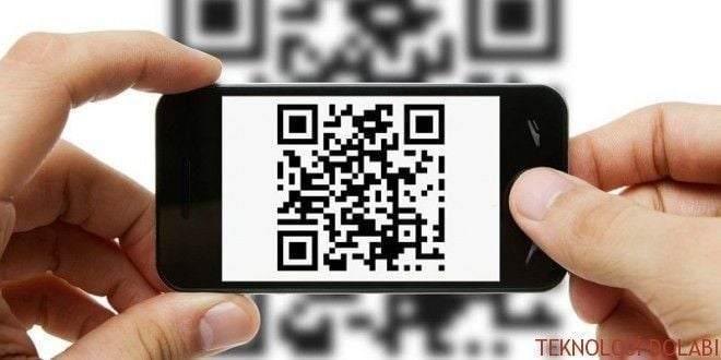 Apple iPhone'da QR kod nasıl kullanılır