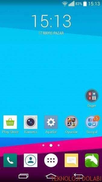 LG G3'e LG G4 Teması Yüklemek