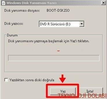 boot-yazdir