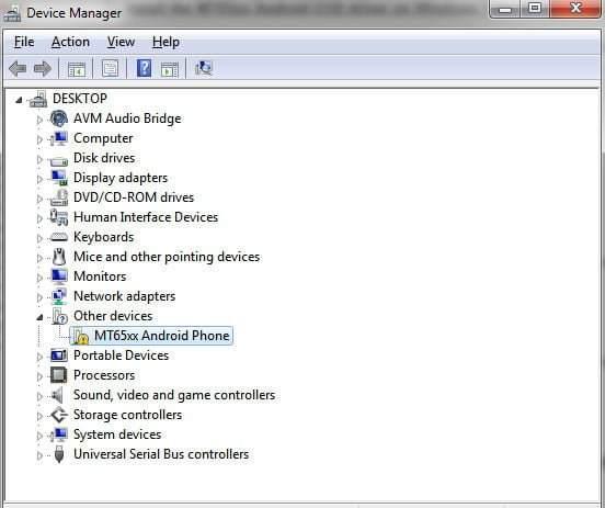 General Mobile Android USB Sürücüleri (Driver)