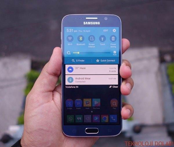 Samsung Galaxy S6 Hızlı Ayarlar Menüsü Kaybolduysa Nasıl Düzeltirsiniz