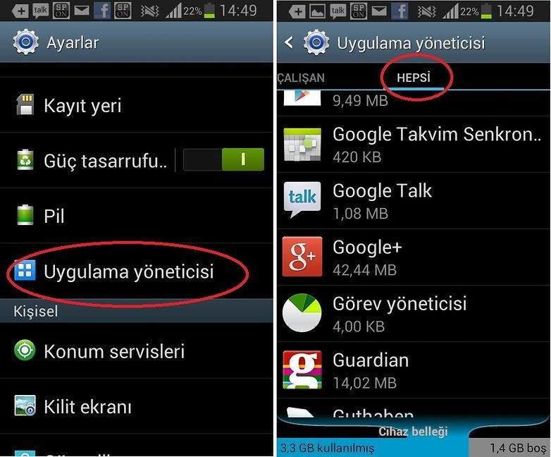 WhatsApp'da Görünen Kişiler Rehberde Görünmüyor Hatası Çözümü