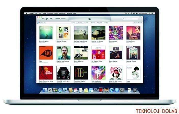 4-Bilgisayarınızdan iTunes'u açın.