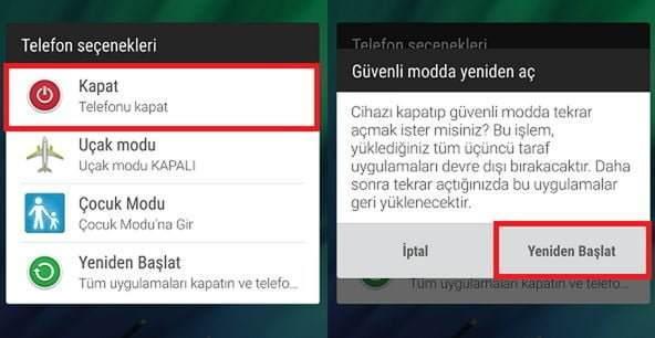 Android Cihazlarda Virüs Temizleme Yöntemi