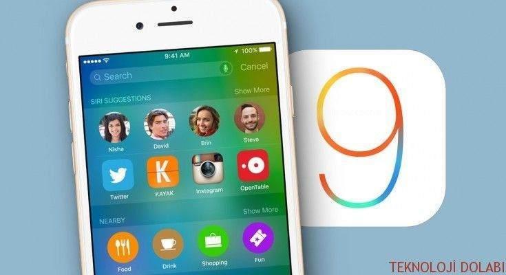 iOS 9 Klavyesinde Küçük Harfleri Eski Haline Getirme