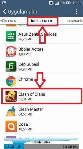 Clash of Clans Durduruldu Hatası ve Çözümü-4