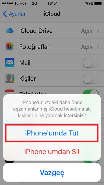 iPhone'da Silinen Numaraları Geri Getirme-2-(www.TeknolojiDolabi.com)