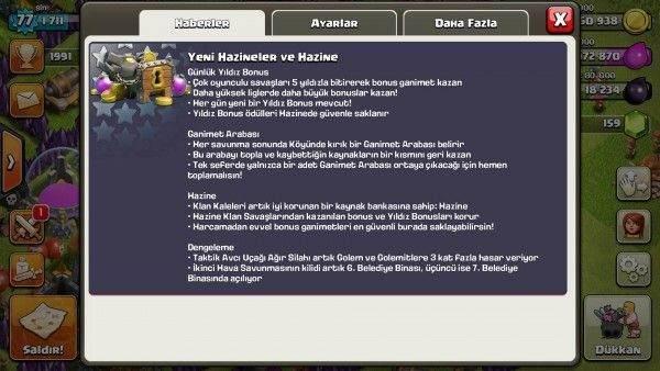 Clash of Clans'da Yıldız Bonusu Nedir, Nasıl Kullanılır-3