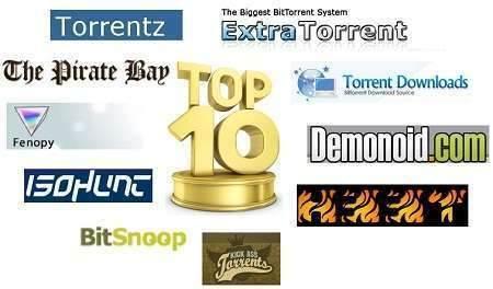 En Popüler 10 Torrent Sitesi-(www.TeknolojiDolabi.com)
