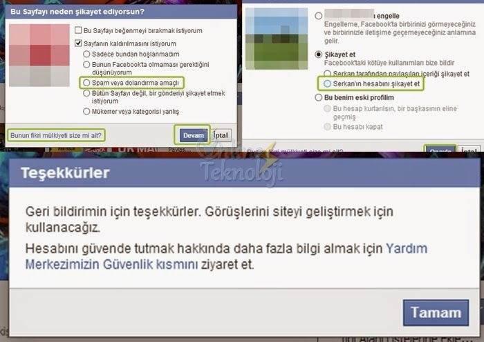 Facebook Sahte Hesap Nasıl Şikayet Edilir-3