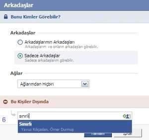 Facebook'ta Eklediğim Arkadaşları Kimse Görmesin-4