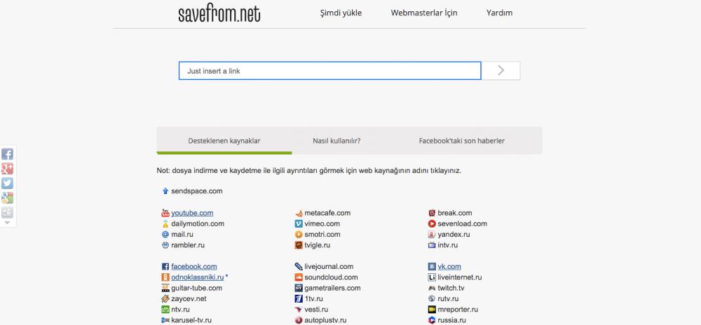 Web tabanlı YouTube video indirme servisleri