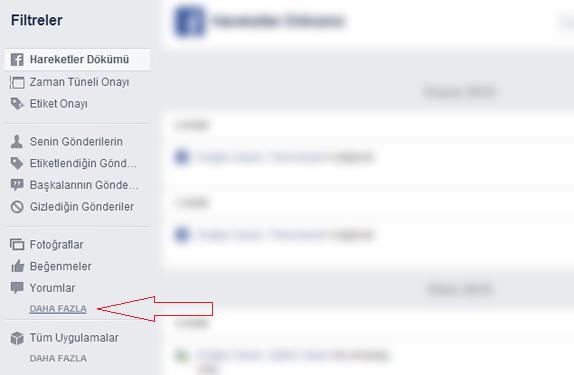 Facebook Arama Geçmişi Nasıl Silinir2