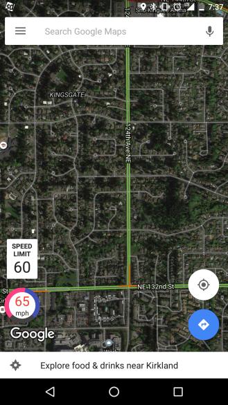 Google Maps'e Hız Göstergesi Ekleyin-2