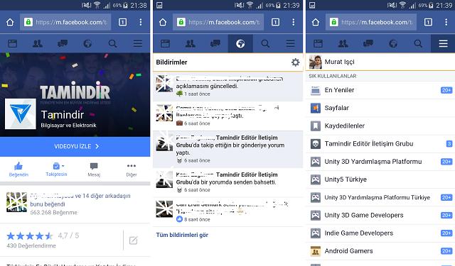 Facebook Uygulamasını Maziye Gömün