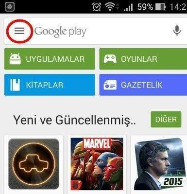 Google Play Arama Geçmişi Nasıl Temizlenir 1