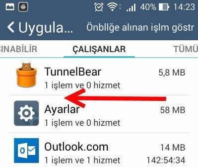Google Play Durduruldu Hatası Çözümü 2