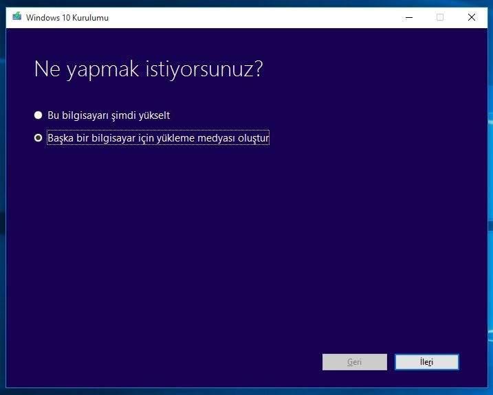 USB Bellekten Windows 10 Nasıl Yüklenir1