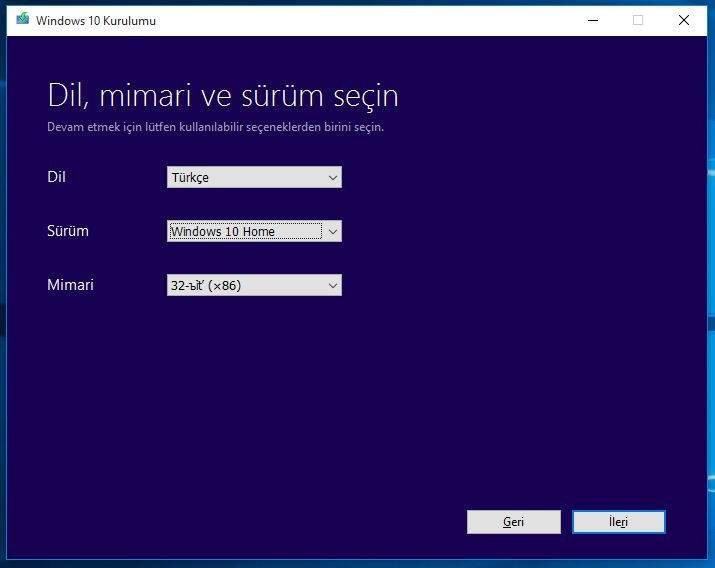 USB Bellekten Windows 10 Nasıl Yüklenir2