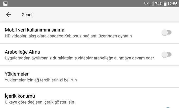 Youtube için Mobil Veri Kullanımı Sınırlaması Nasıl Yapılır-4
