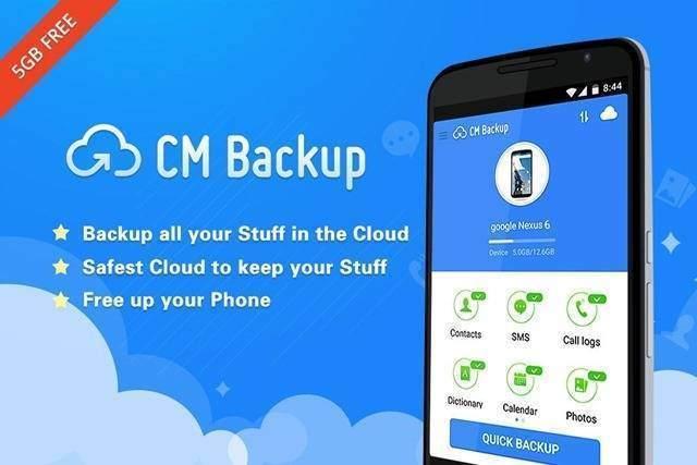 3. CM Backup