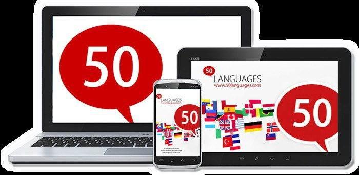 Android için Dil Uygulamaları-Learn 50 Languages