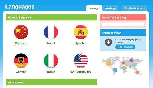 Android için Dil Uygulamaları-Memrise