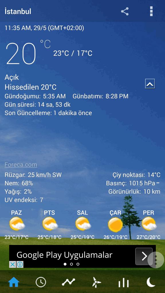 Android'de Ekrana Hava Durumu Ekleme4