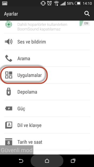 Android'de Silinmeyen Uygulamalar Nasıl Kaldırılır4