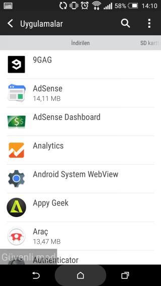 Android'de Silinmeyen Uygulamalar Nasıl Kaldırılır5