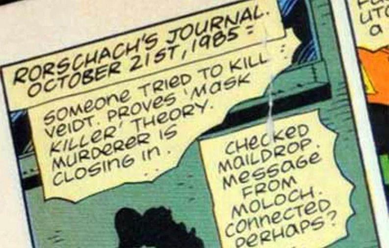 Batman & Watchmen Comic Sans