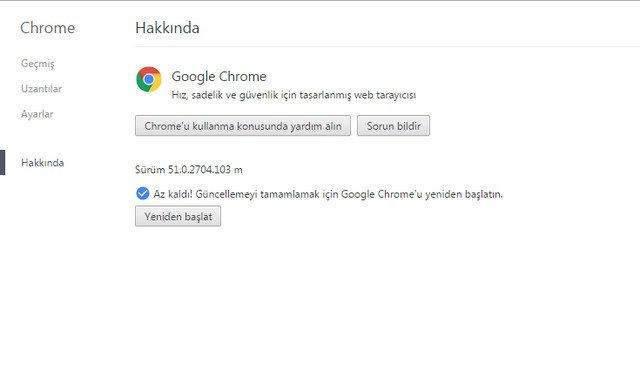 Chrome RAM Tüketim Sorunu Çözümü1