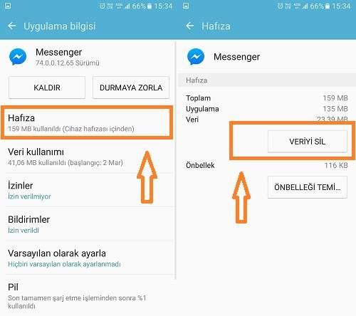 Facebook Messenger'dan Nasıl Çıkış Yapılır2