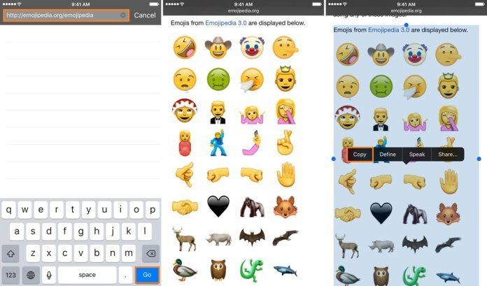IOS 10'daki Yeni Emojileri Telefona Yüklemek1