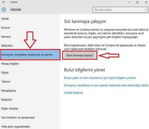 Windows 10 Keylogger Nasıl Devredışı Bırakılır2