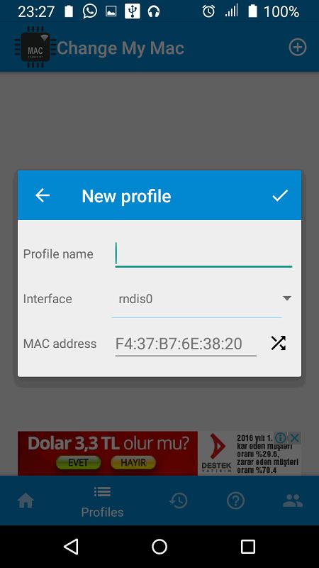 Android Telefonlarda MAC Adresi Değiştirme3-TeknolojiDolabi