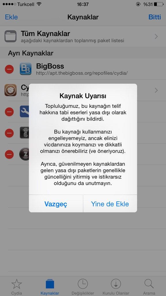 Cydiaya Repo Nasıl Eklenir5