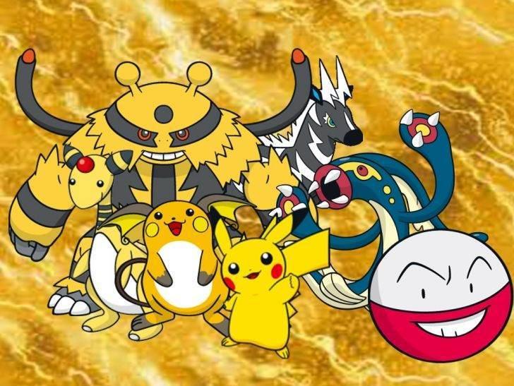Elektrik tipi Pokemonlar