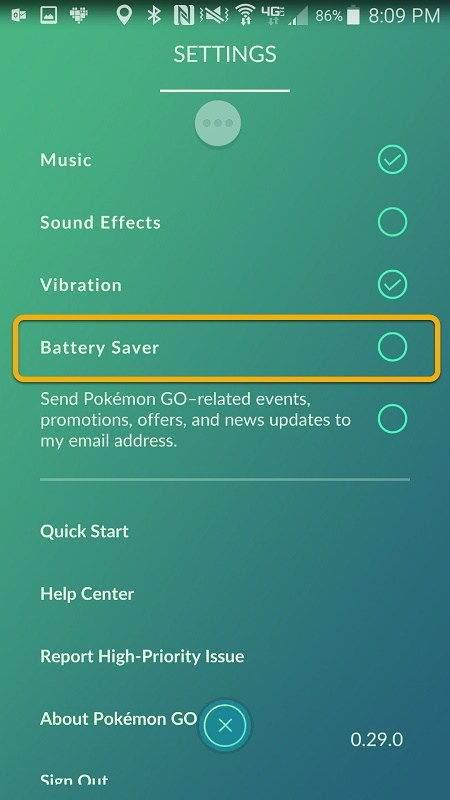 Pokemon GO'da Batarya Tasarrufu Nasıl Yapılır1