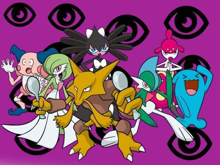 Psişik tip Pokemonlar
