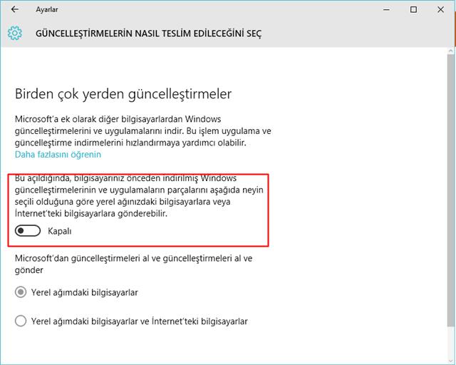 Windows 10'da Kapatabileceğiniz 10 Özellik -1-TeknolojiDolabı