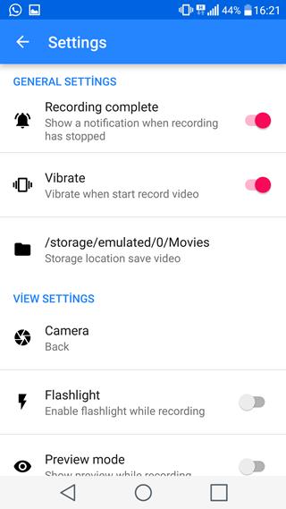 Android Telefonda Gizli Video Çekimi Yapma
