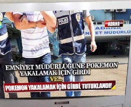 Adana'da Pokemon GO