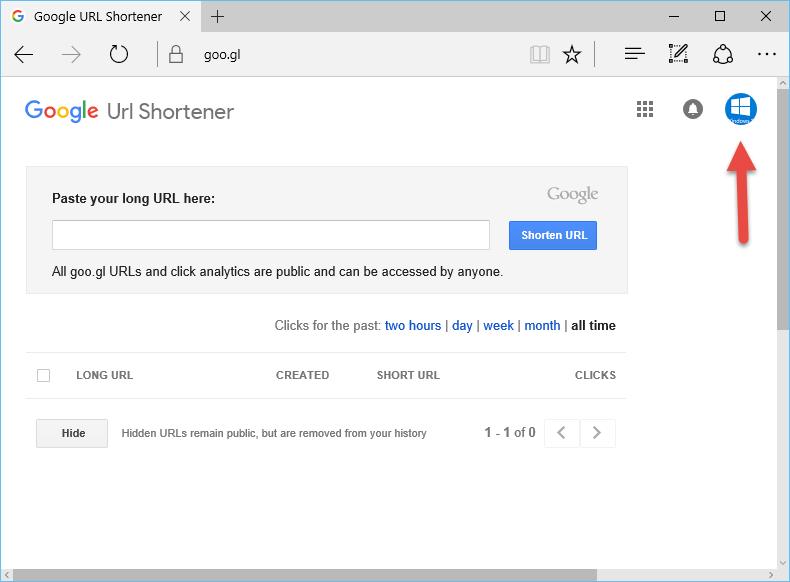 Google ile Uzun Linkleri Kısaltma