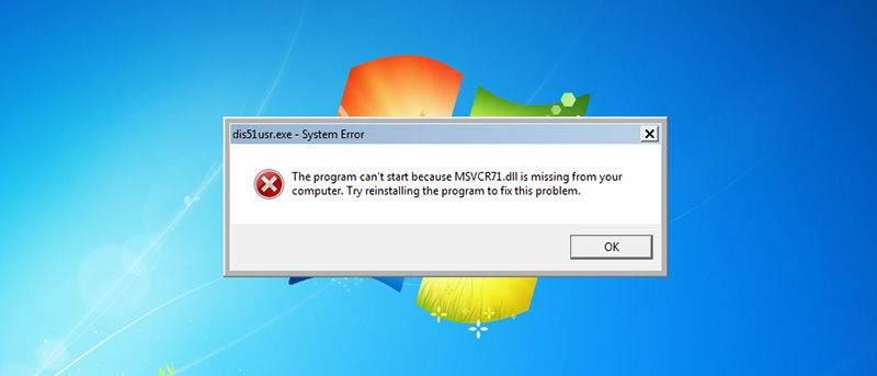 Eksik DLL Dosyası Nasıl Yüklenir