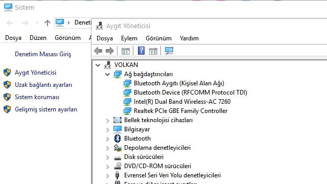 Windows 10 MAC Adresi Değiştirme