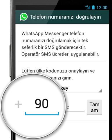 WhatsApp 'ta Telefon Numarası Nasıl Değiştirilir?