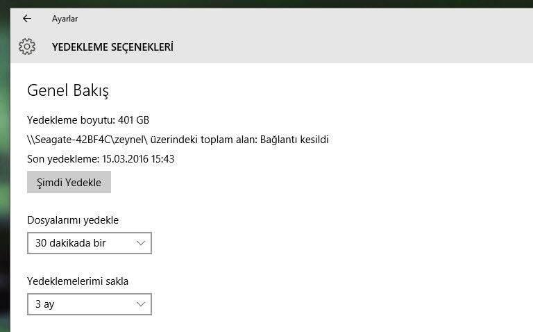 Windows 10'u Yeniden Yükleme1