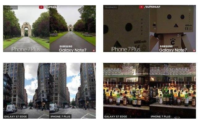 iPhone 7 Plus, Galaxy Note 7 ve Galaxy S7 Edge Kamera Karşılaştırması